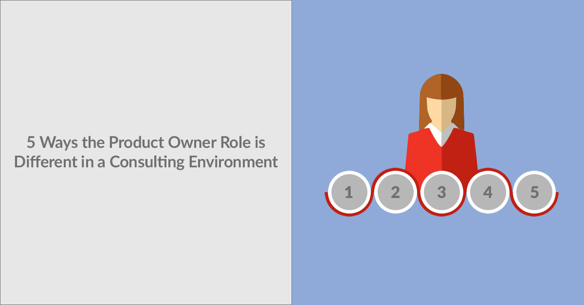 5 Ways the Product Owner Role Is Different In A Consulting Environment