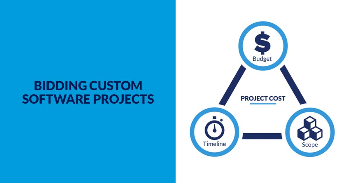 Bidding Custom Software Banner