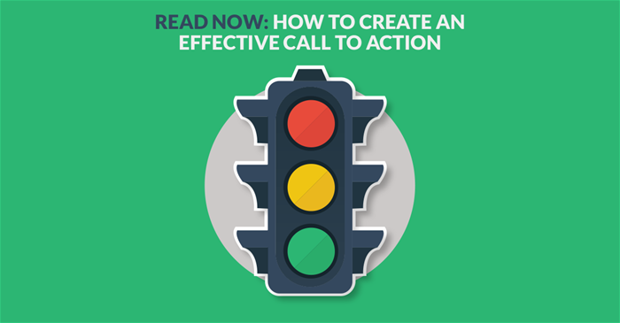 Call to action - stoplight