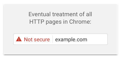 Not Secure Chrome Warning