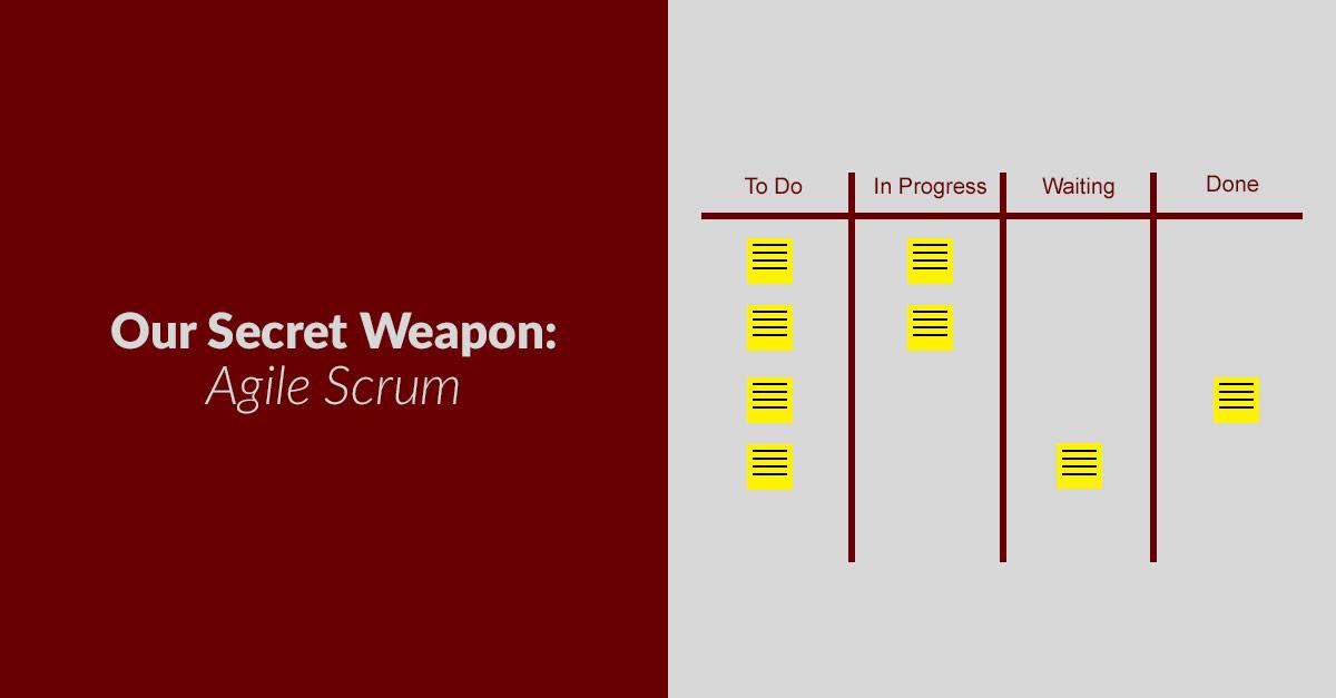 Our Secret Weapon - Agile Scrum