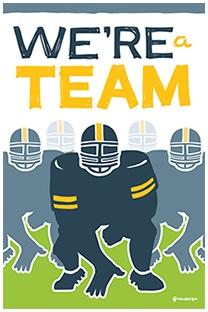 We're a Team Core Value