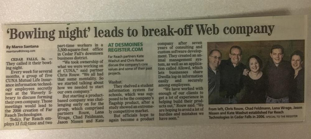 'Bowling Night' Leads To Break-off Web Company