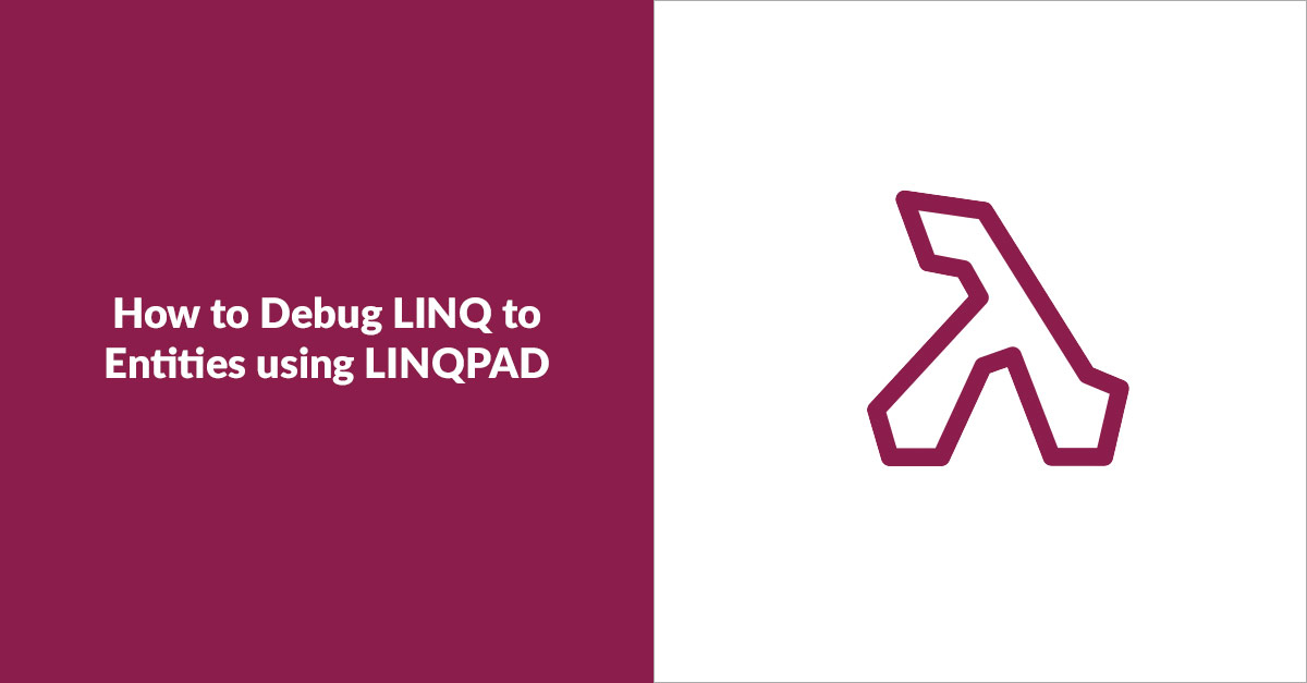 Debug LINQ in LINQPAD banner