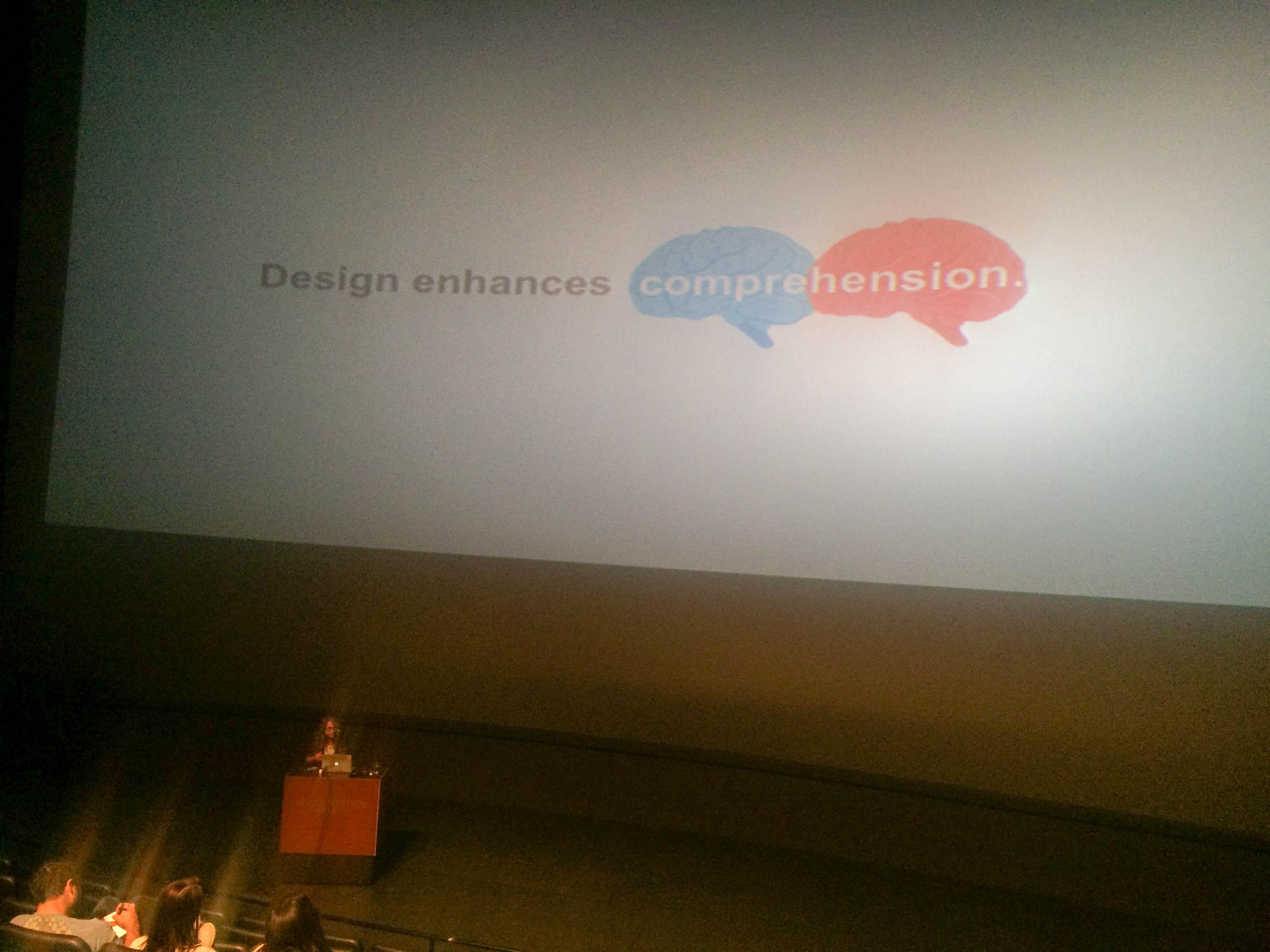 Design Enhances Comprehension