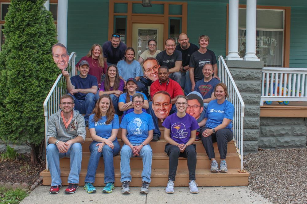 Far Reach Team at House of Hope