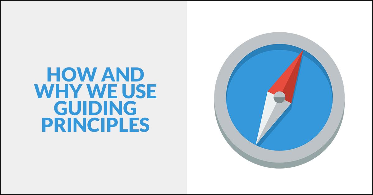 Guiding Principles in Software Development