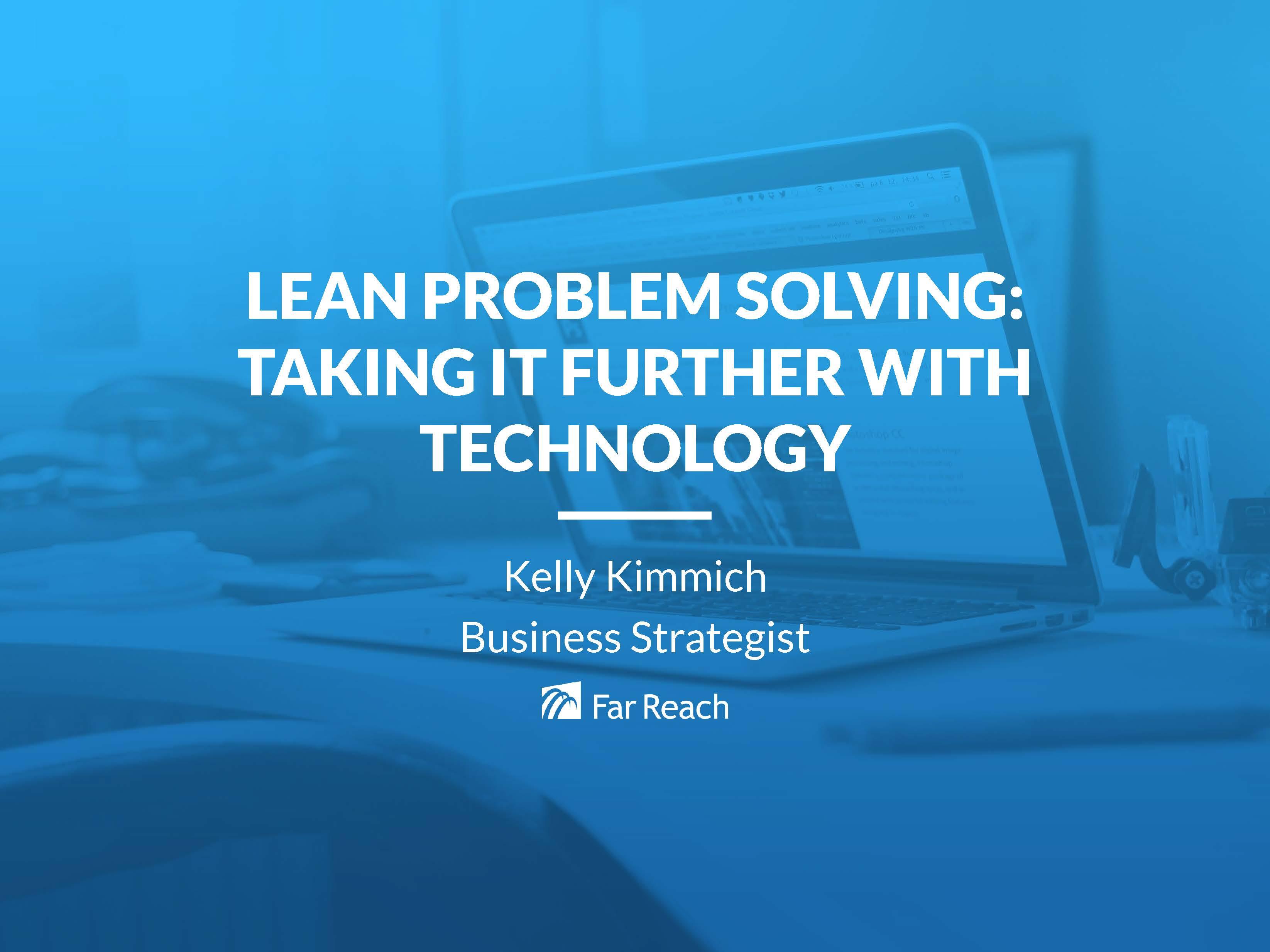 ILC Presentation - Problem Solving with Technology