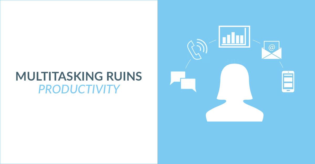 Multitasking Ruins Productivity Header