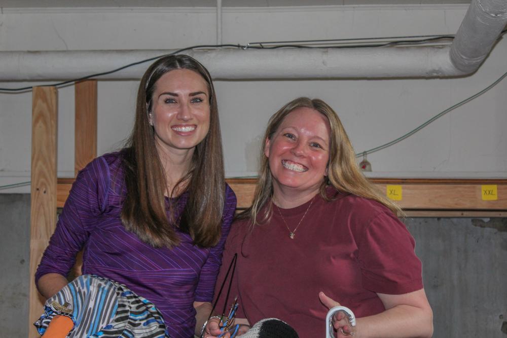 Natalie Thompson and Jen Aiello