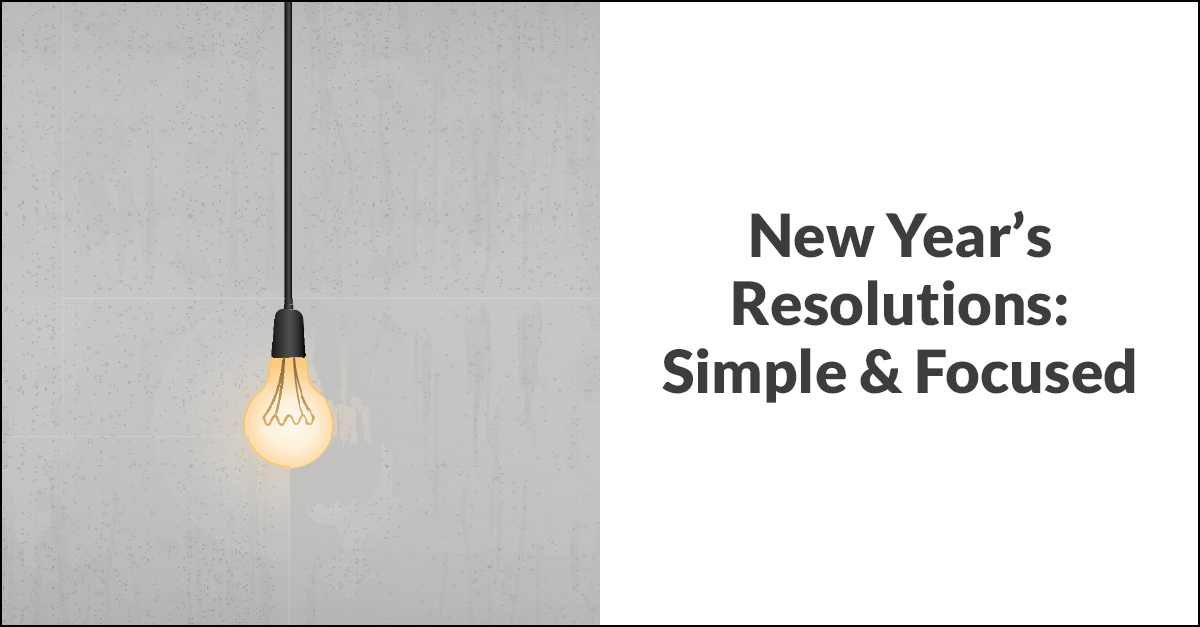 New Years Resolutions Banner