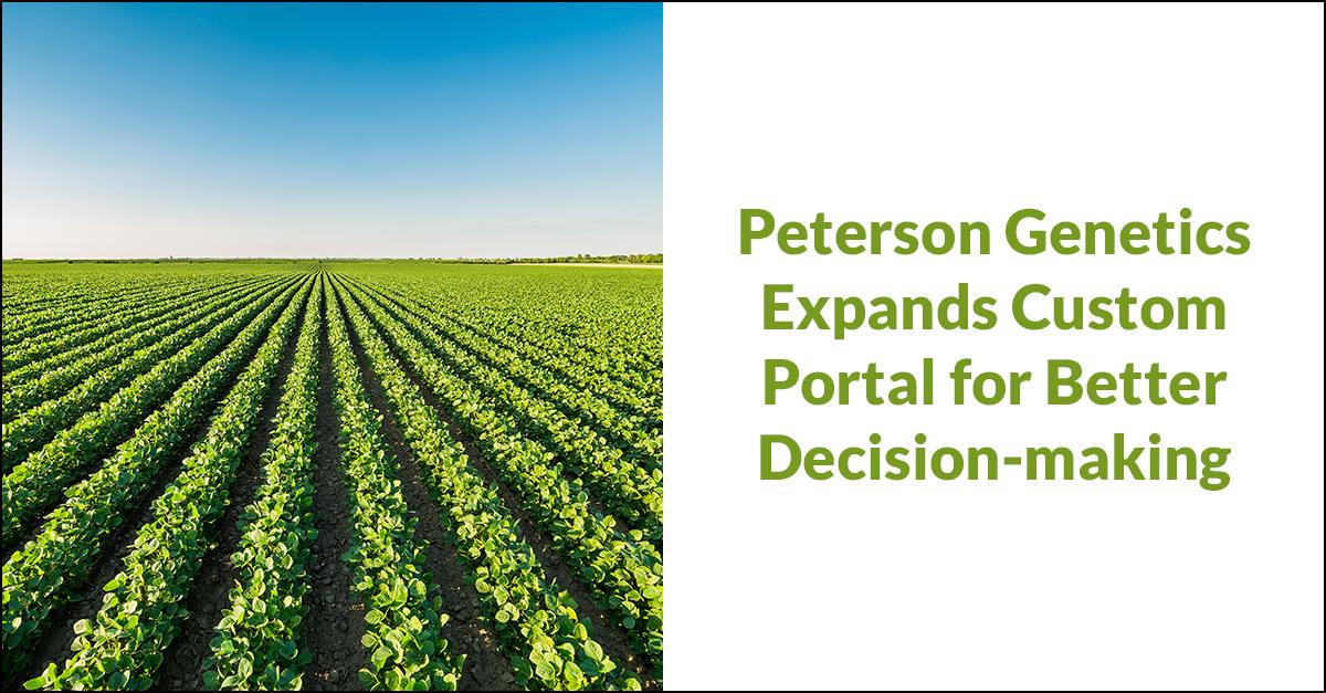 Peterson Genetics Custom Portal