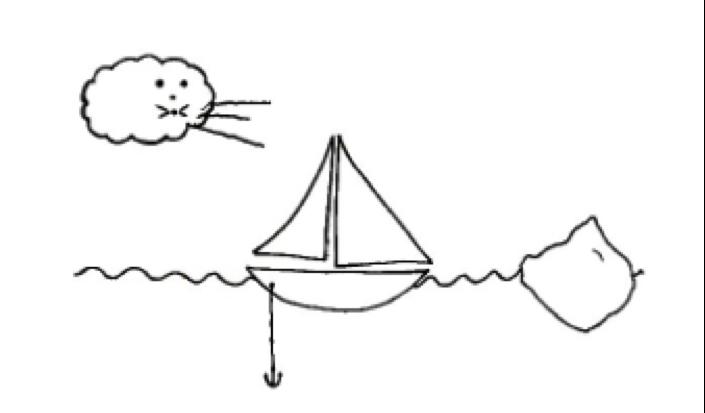 Sailboat Retro