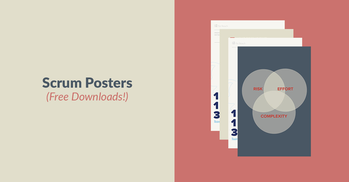 Scrum Posters (Free Downloads!)