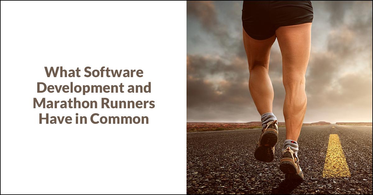 Software Development and Marathons Banner