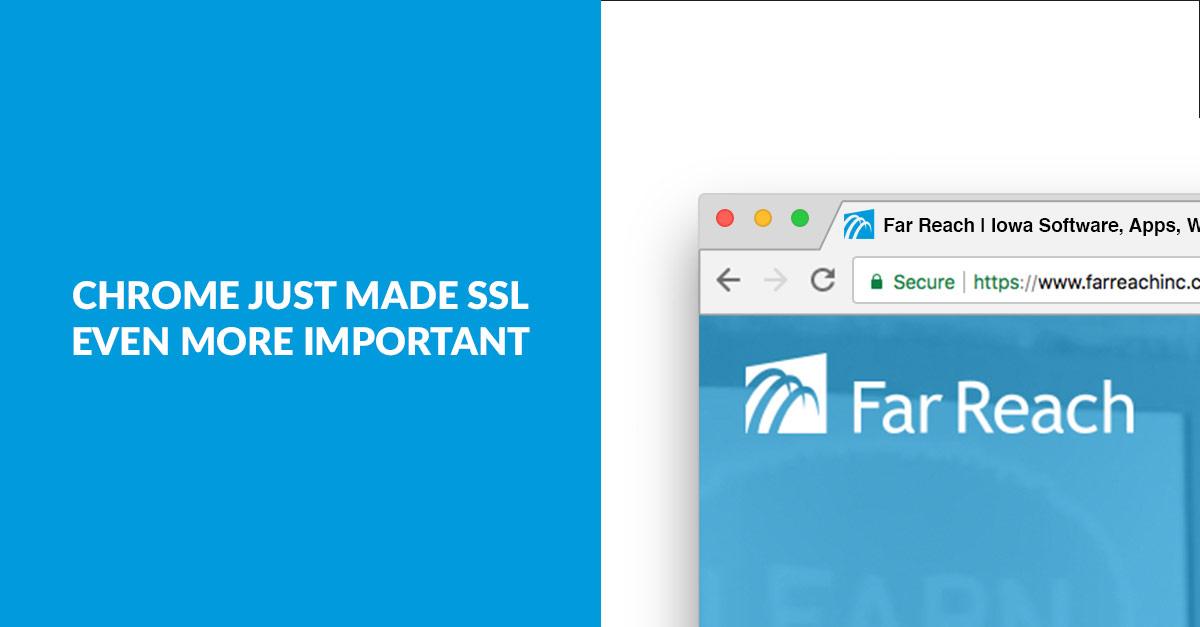 SSL Chrome Update Banner