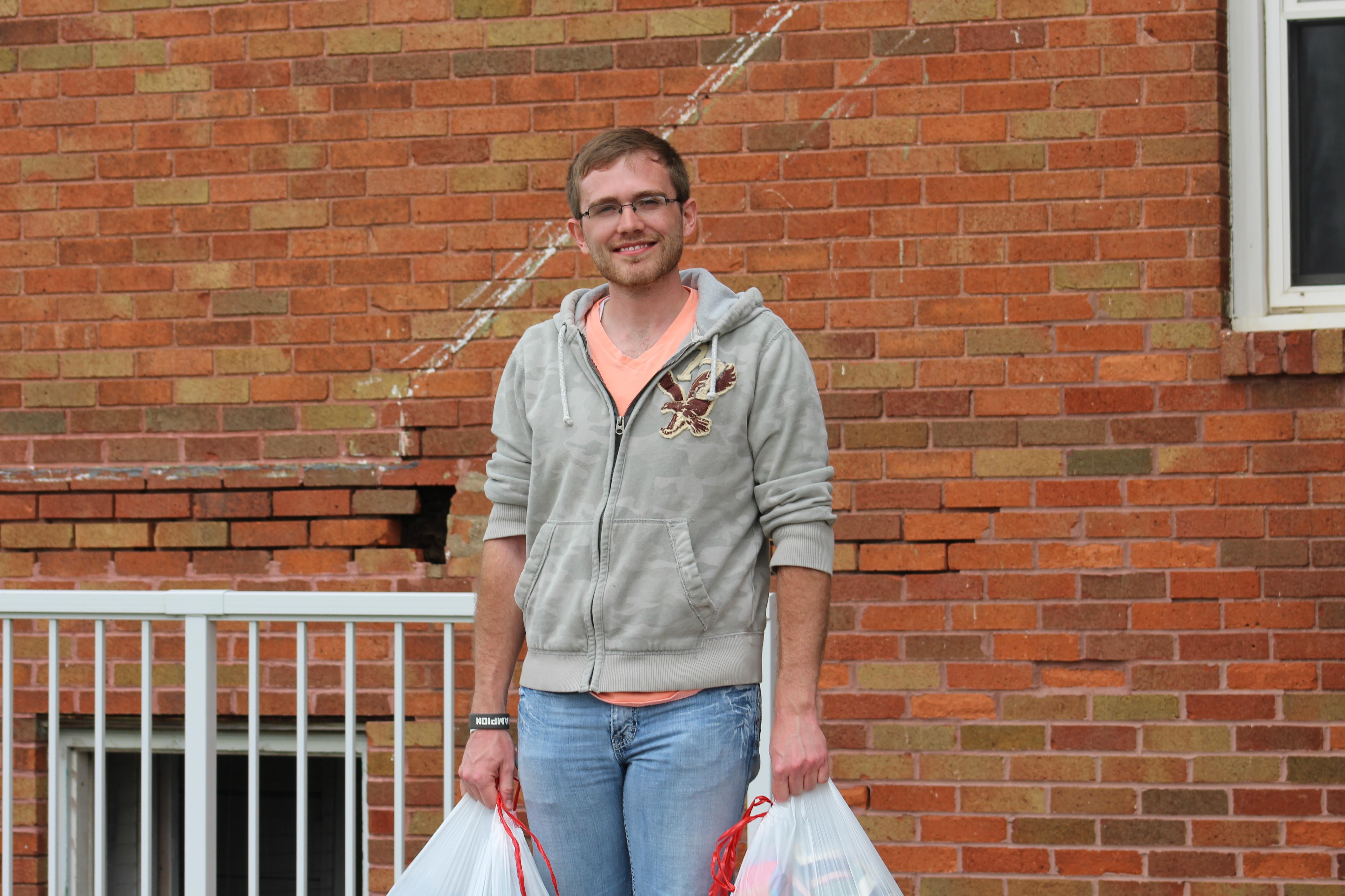 Tyler Kane Volunteering