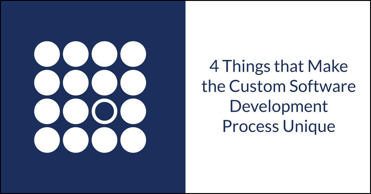 Unique Custom Software Development Process