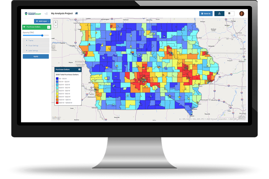 MMS Iowa Counties