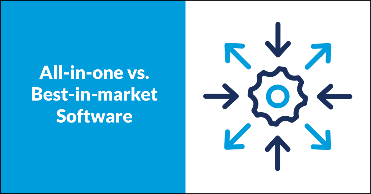 All in one vs best in market software