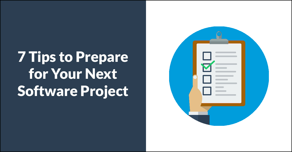 Prep for Custom Software Project